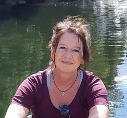 Michaela Gellert ist Yogalehrerin in Recklinghausen